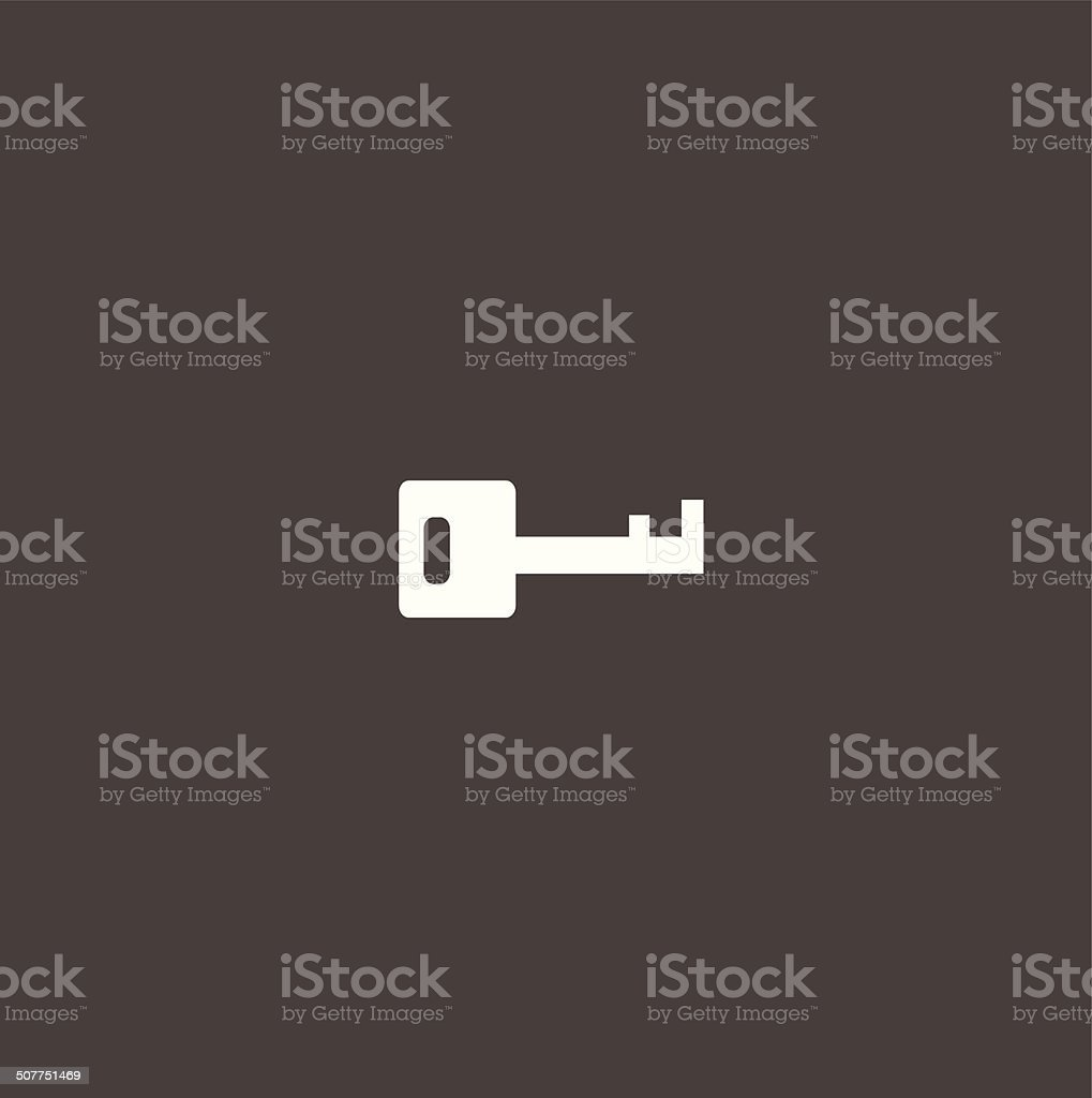key symbol vector art illustration