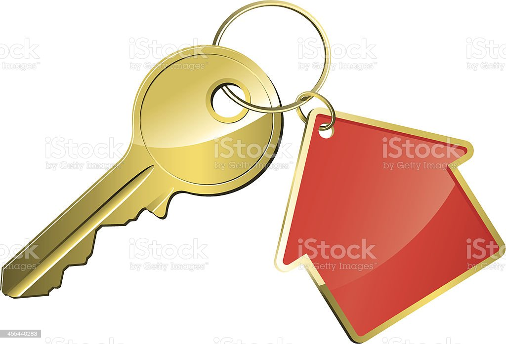 Key royalty-free stock vector art