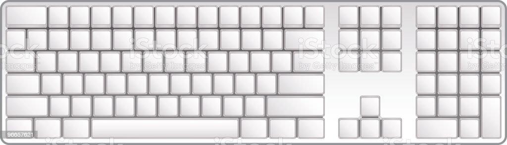 Keyboard royalty-free stock vector art