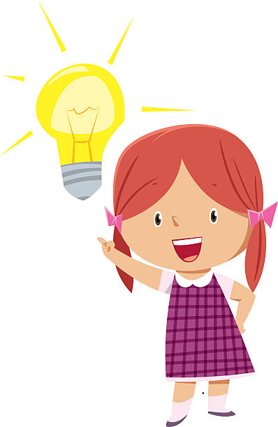 Girl Thinking Clip Art, Vector Images & Illustrations - iStock