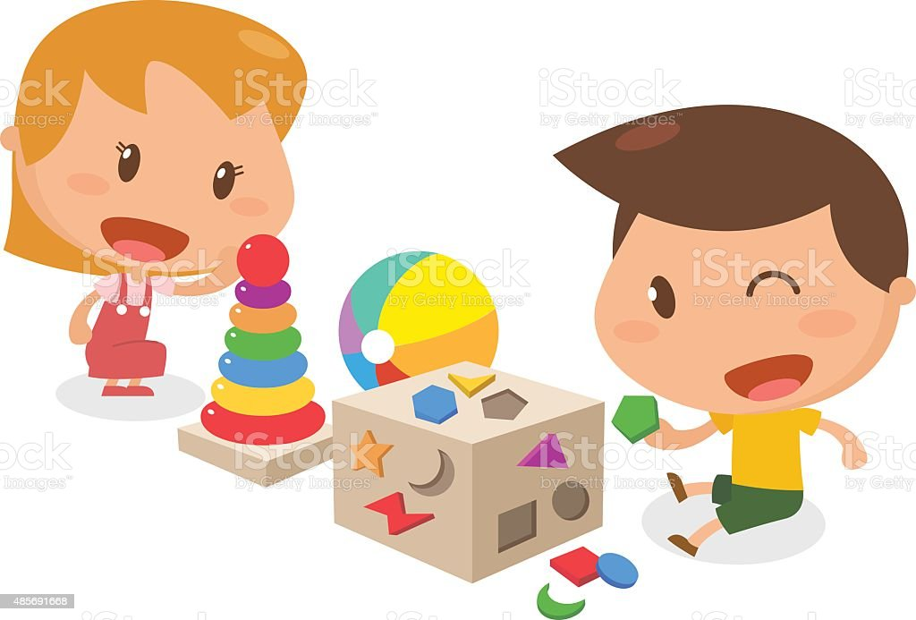 Kids activity. vector art illustration