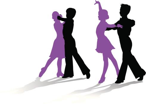 Kids Ballroom Dancing Clip Art