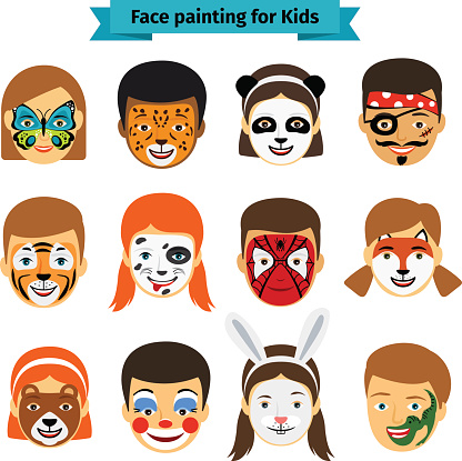 Cool Face Paint Designs For Sports