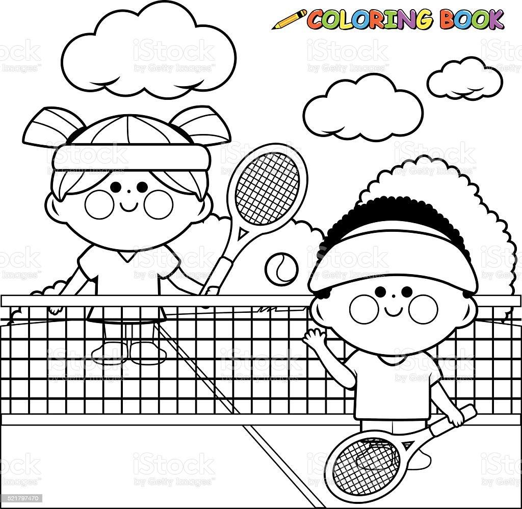 how to teach kids to play tennis