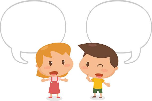 children speaking clip art - photo #3