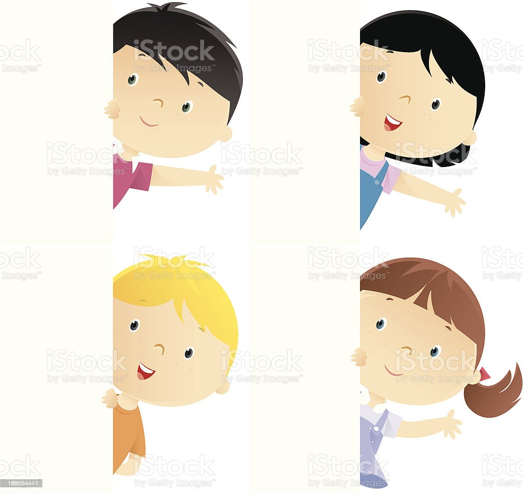 Kids royalty-free stock vector art