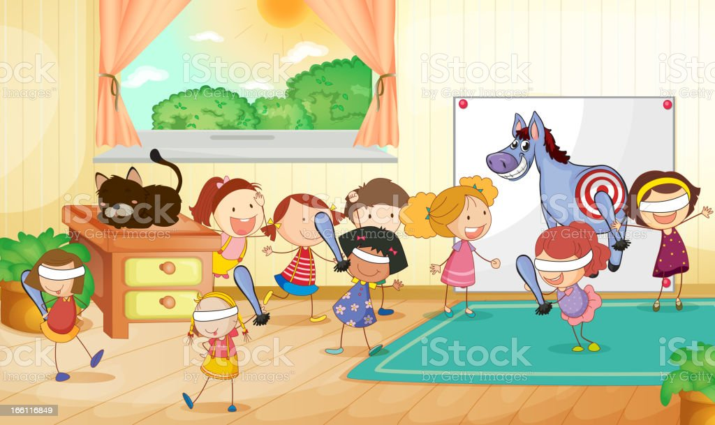 Kids royalty-free stock vector art