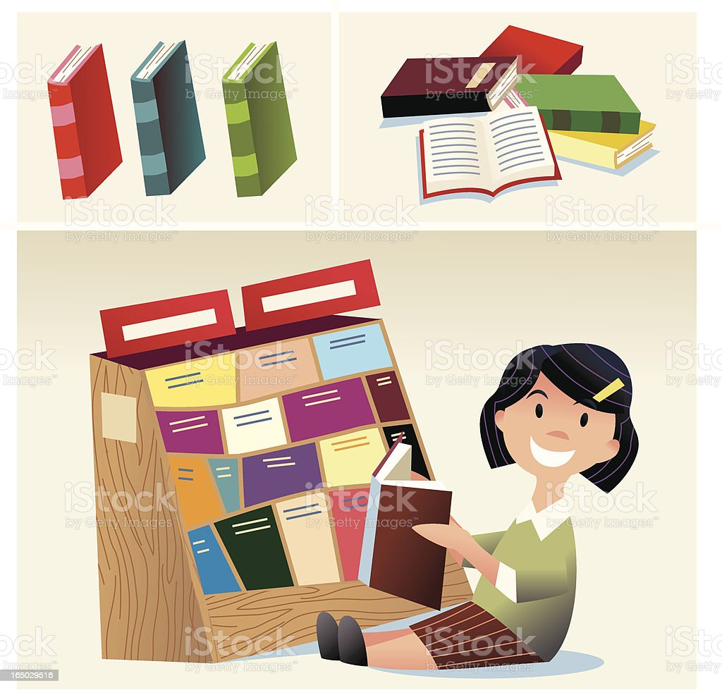 Kidz Education royalty-free stock vector art