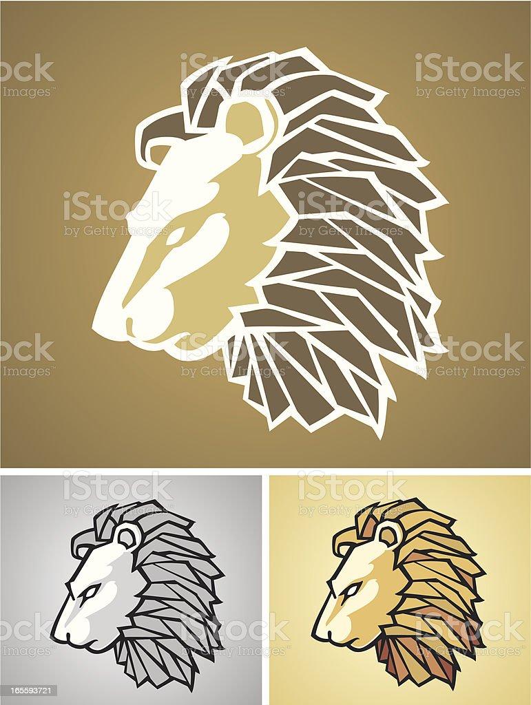 King of Beast royalty-free stock vector art