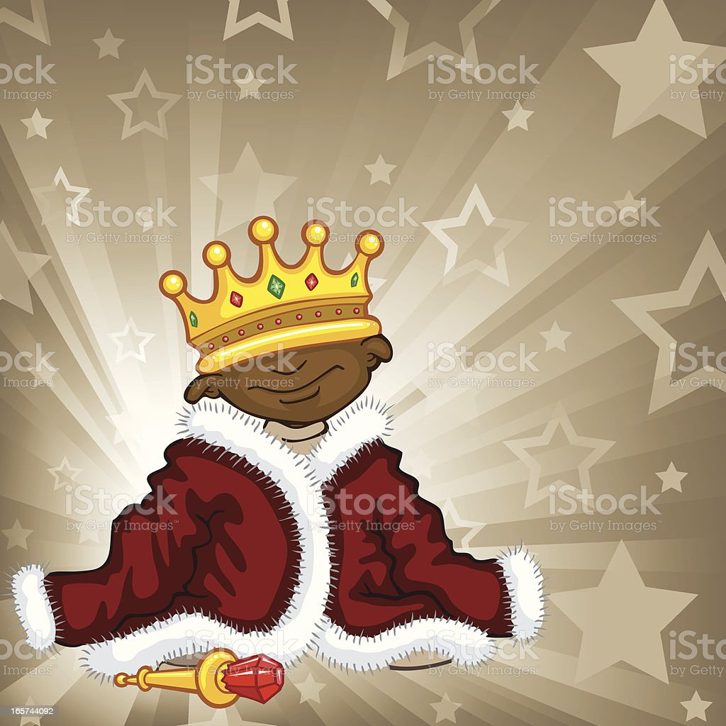 King To Be royalty-free stock vector art