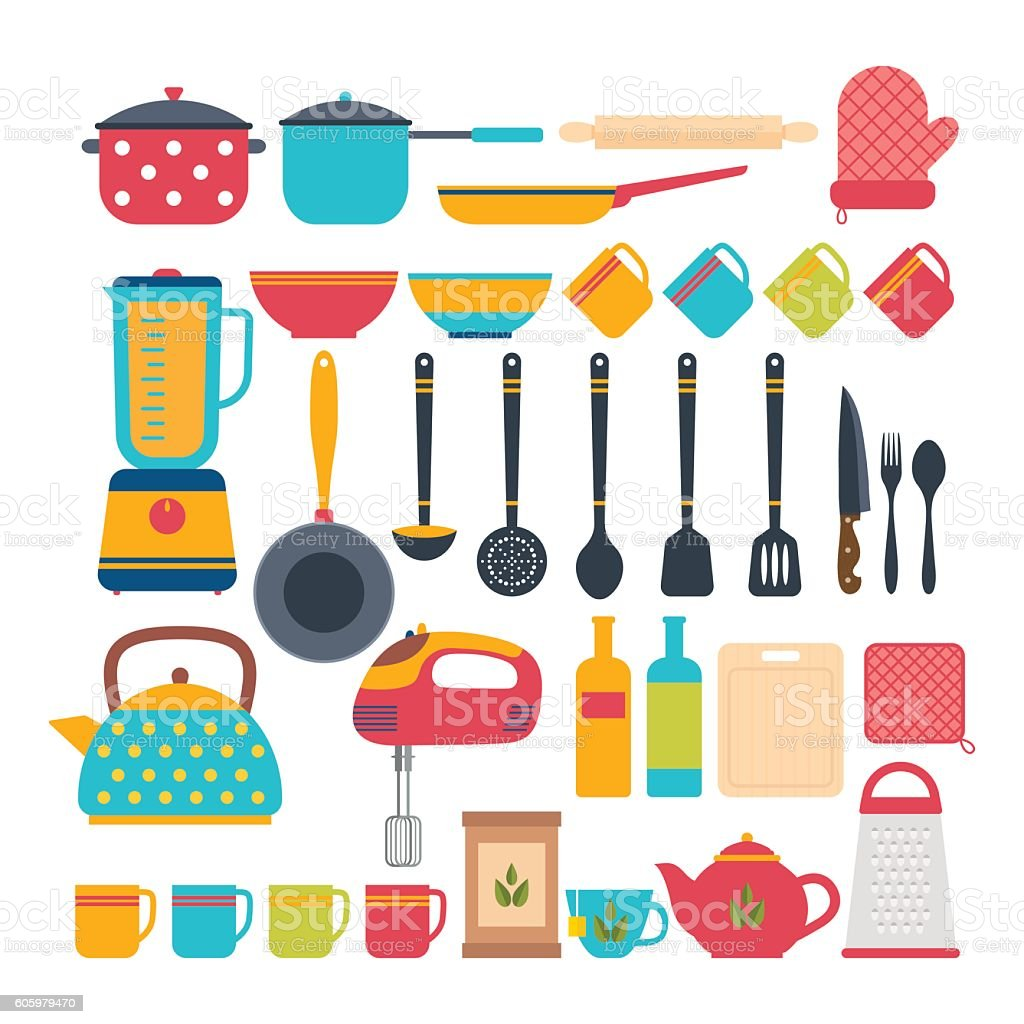 Kitchen Appliances On Credit Kitchen Appliances Cooking Tools And Kitchenware Equipment Stock