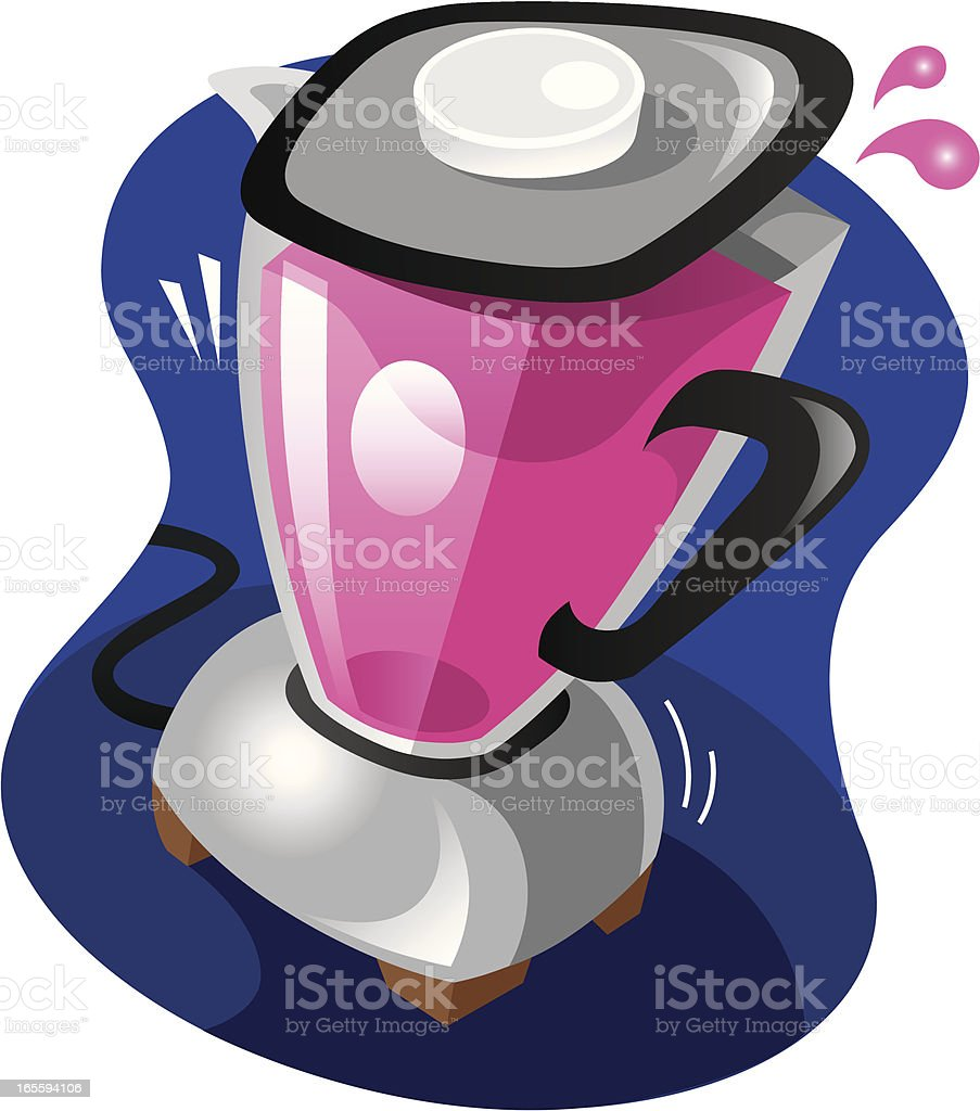 kitchen blender royalty-free stock vector art