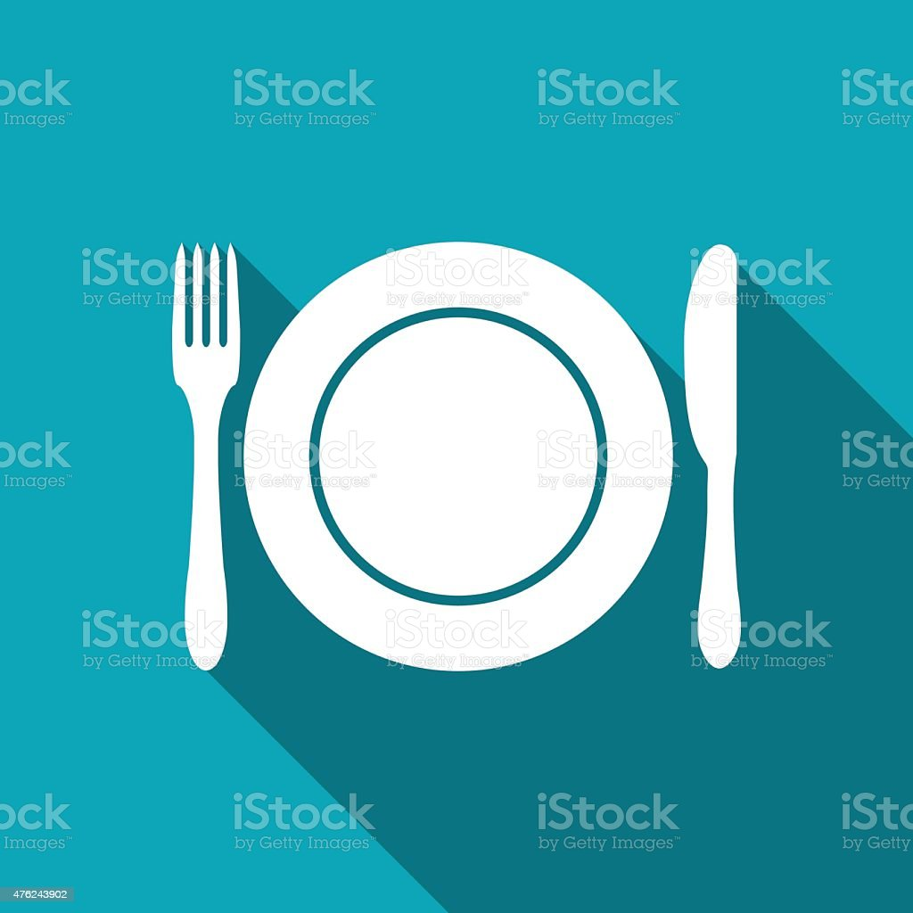 kitchen icon vector art illustration