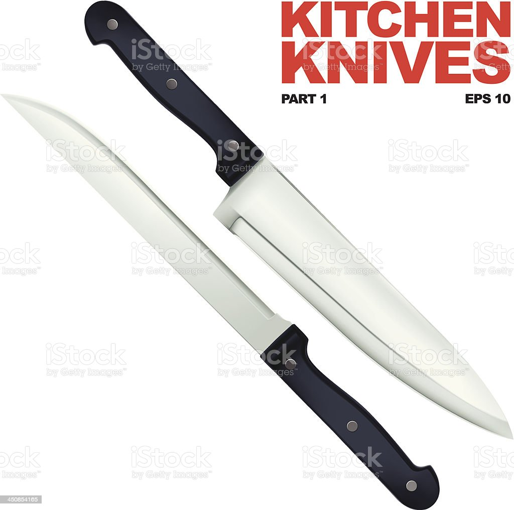 Kitchen Knife Vector kitchen knife clip art, vector images & illustrations - istock