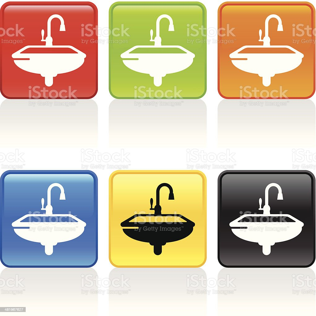 Kitchen Sink Icon royalty-free stock vector art