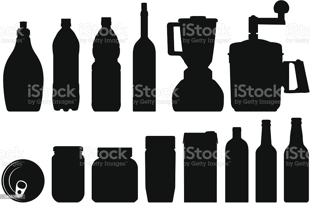 kitchen tools royalty-free stock vector art