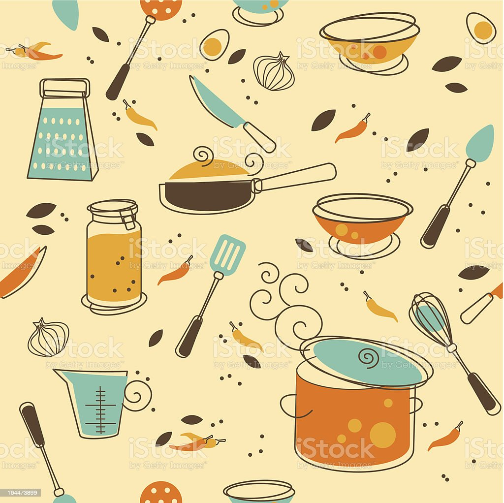 Kitchen Utensil vector art illustration