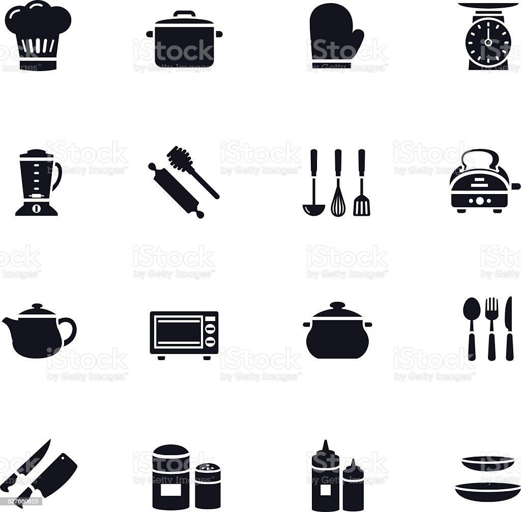 Kitchenware Icon vector art illustration