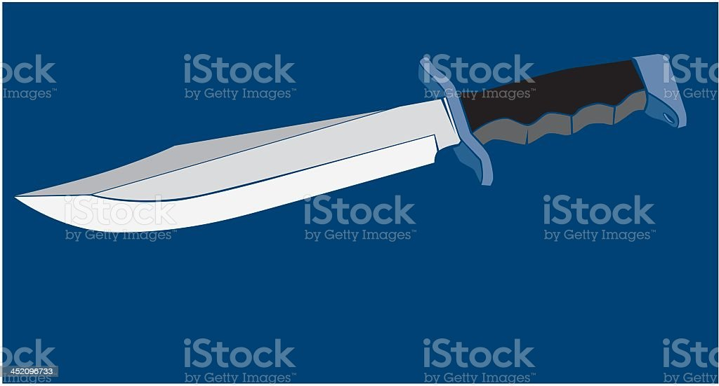 Knife royalty-free stock vector art