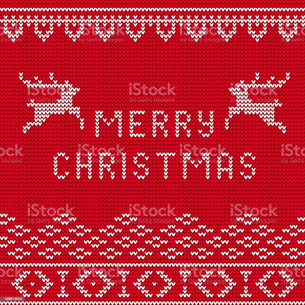 Knitted Sweater Background 1 vector art illustration
