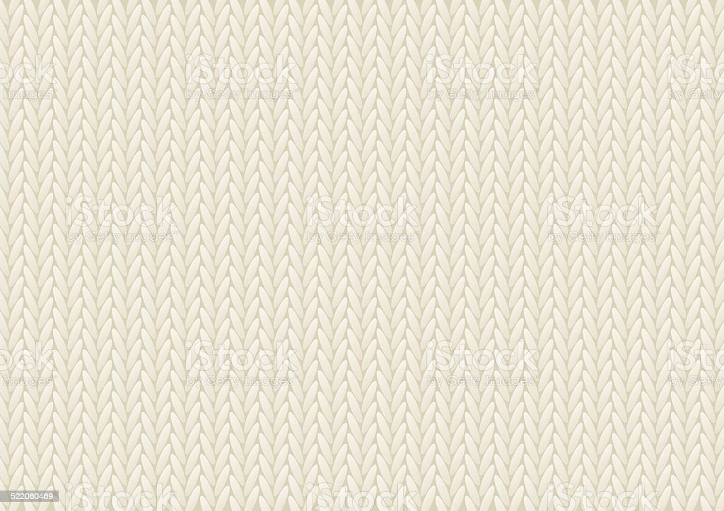 Knitted texture background for Your design vector art illustration