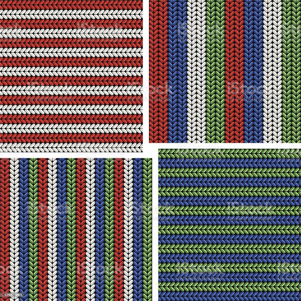 knitting royalty-free stock vector art