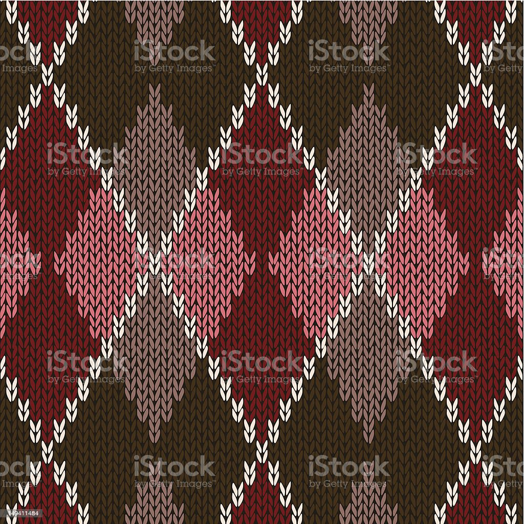 Knitwear Vector Graphic Onament stock photo