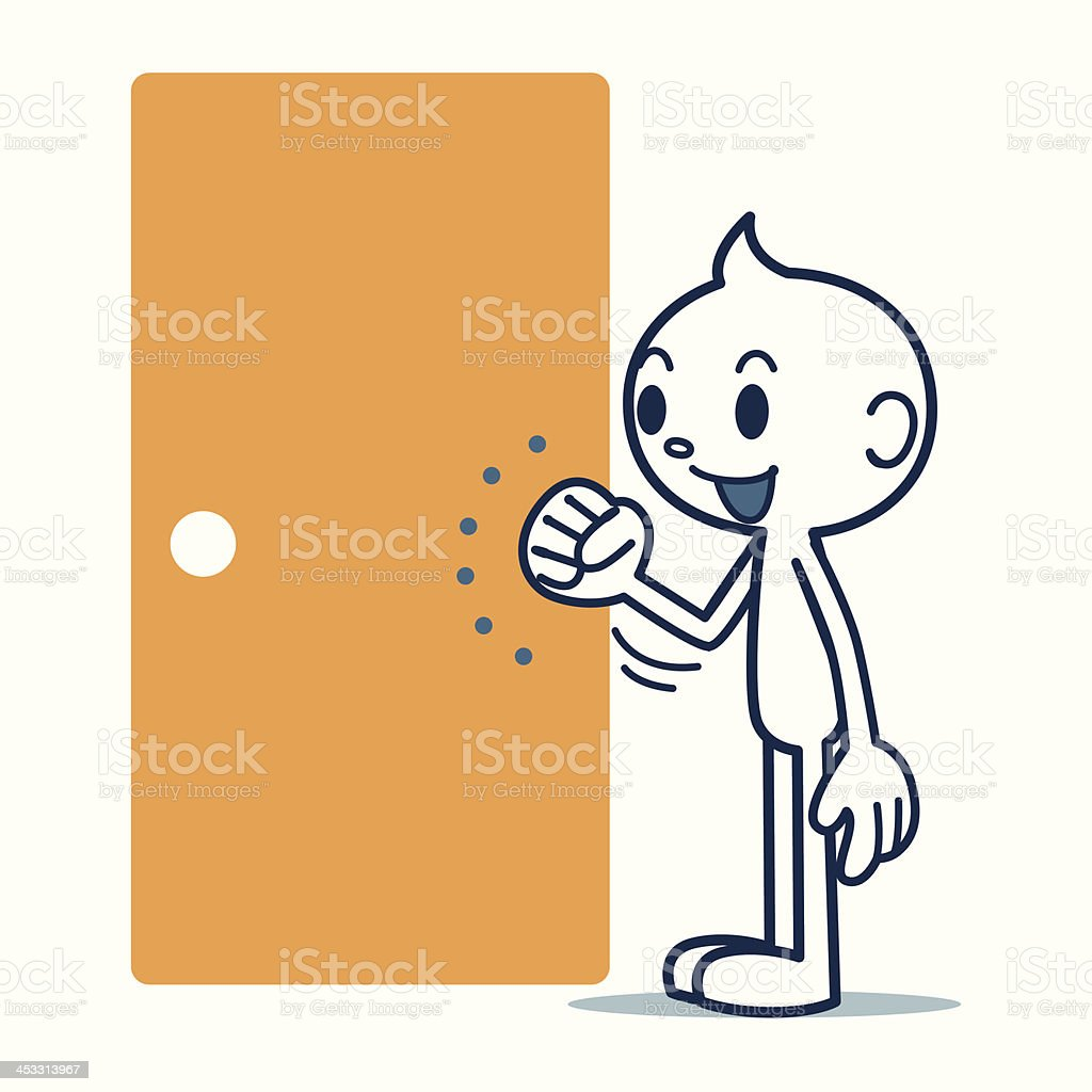 Knocking Clip Art Vector Images Amp Illustrations Istock