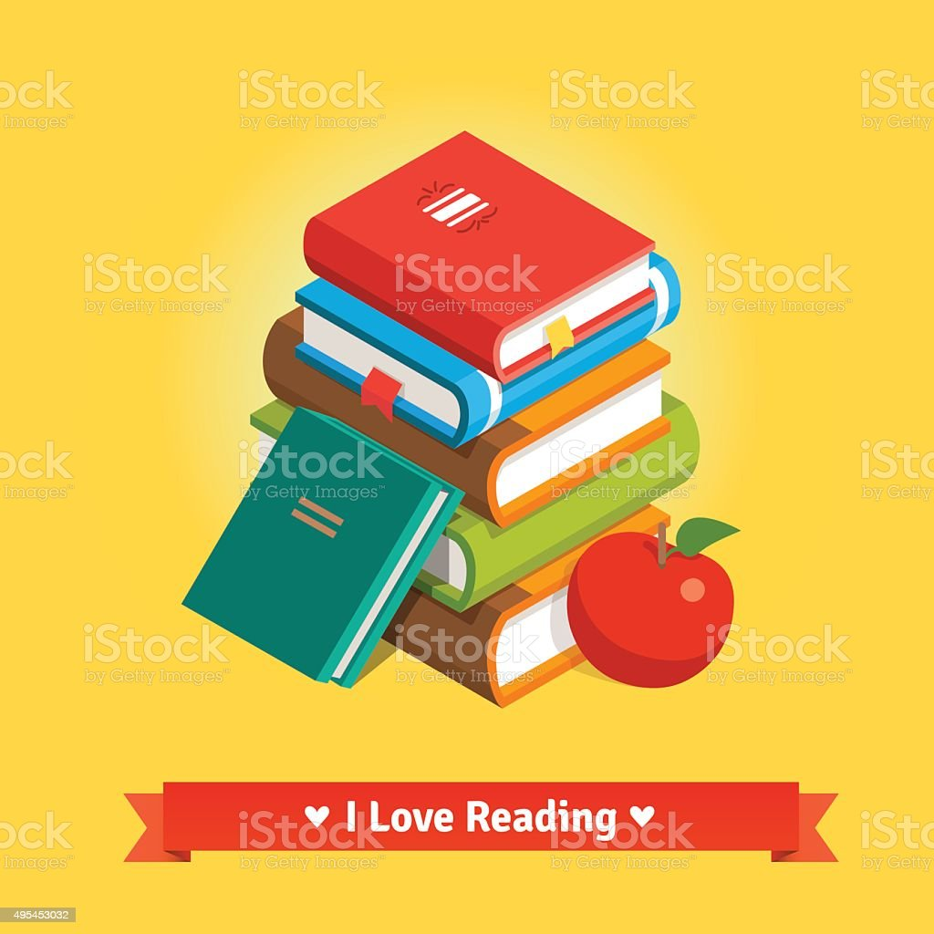 Knowledge and education concept vector art illustration