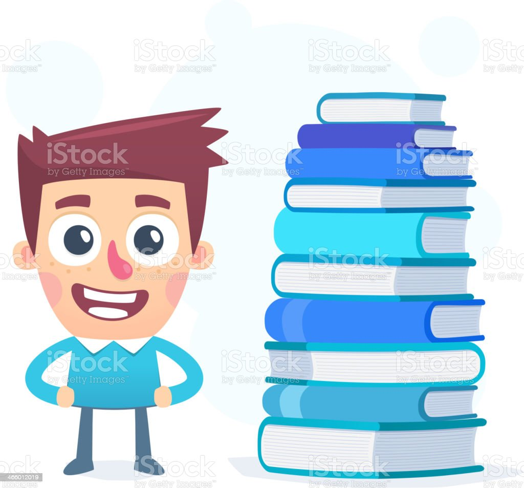 Knowledge is power royalty-free stock vector art