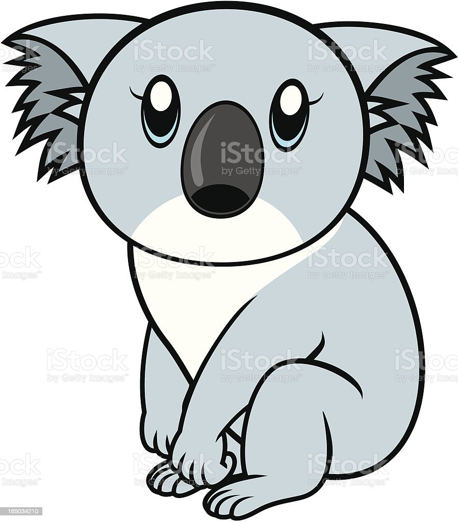 Koala  Cartoon royalty-free stock vector art