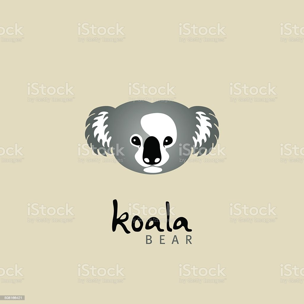 koala. koala bear vector art illustration