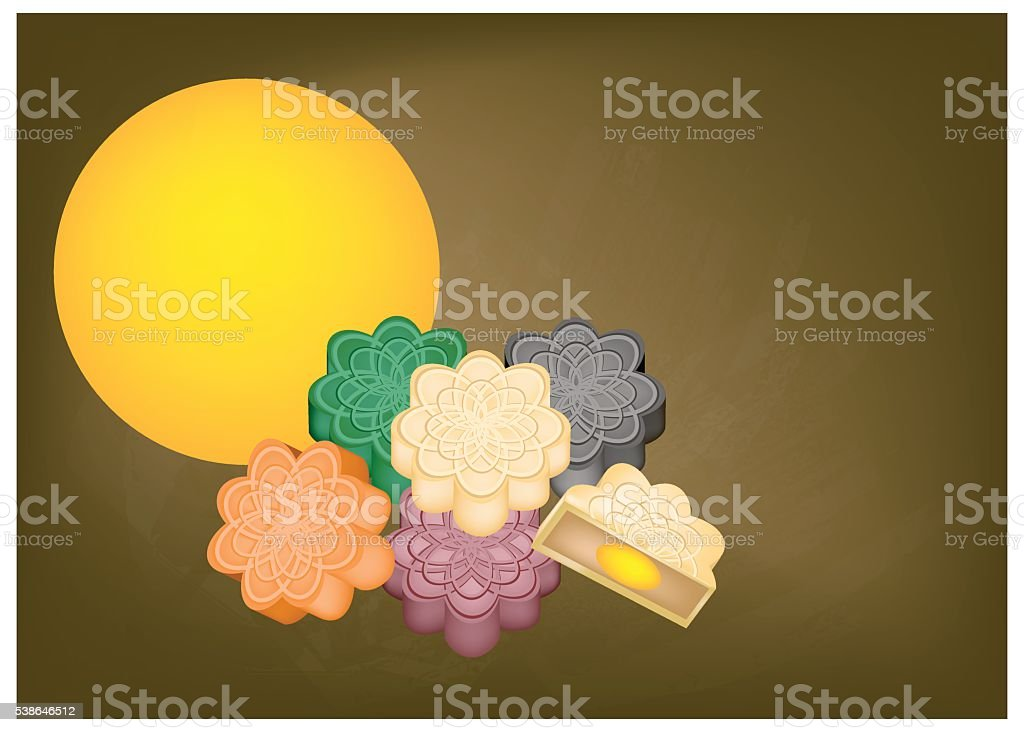 Korean Mixed Rice with Meat and Assorted Vegetables vector art illustration