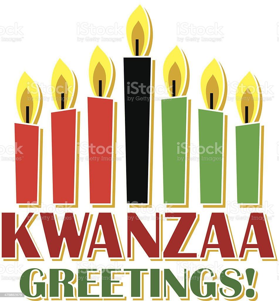 Kwanzaa Heading C vector art illustration