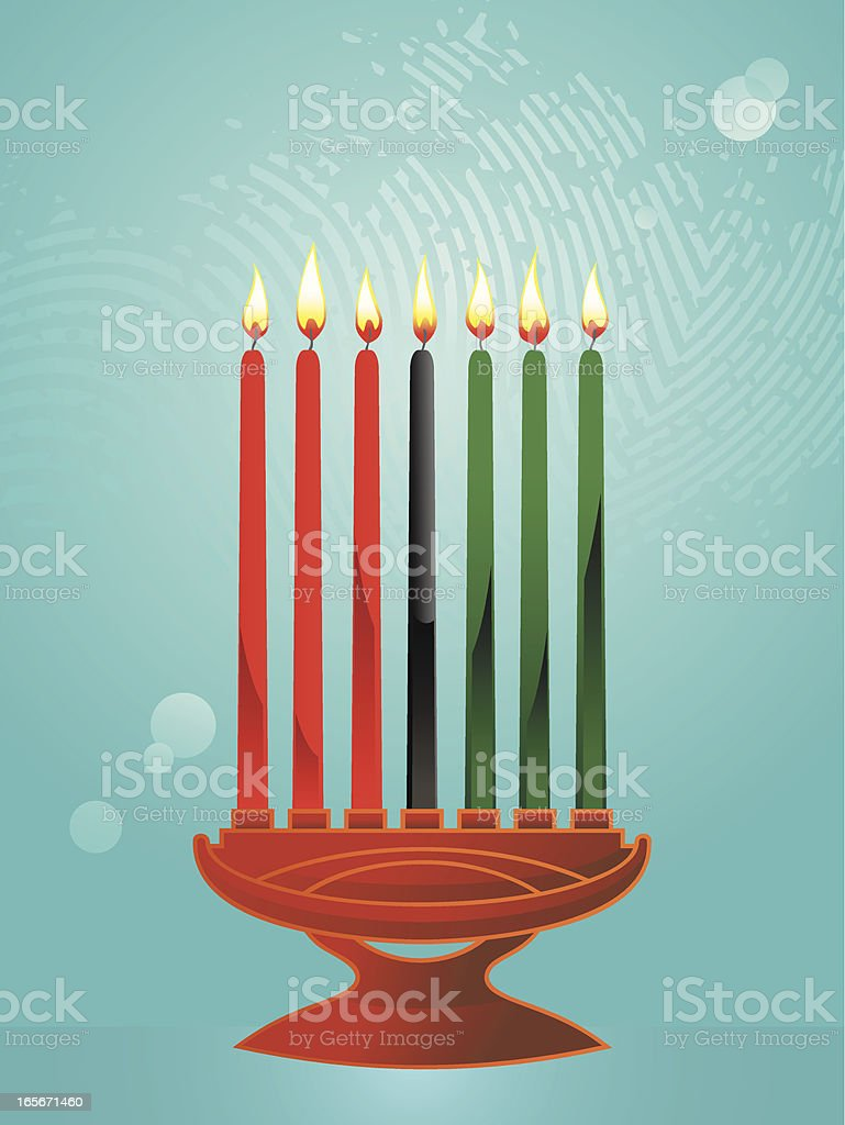 kwanzaa royalty-free stock vector art