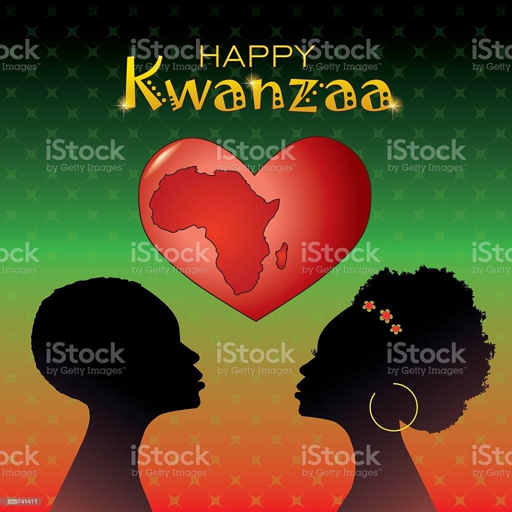 Kwanzaa2 vector art illustration