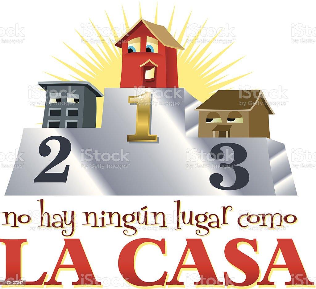 La Casa Heading C royalty-free stock vector art