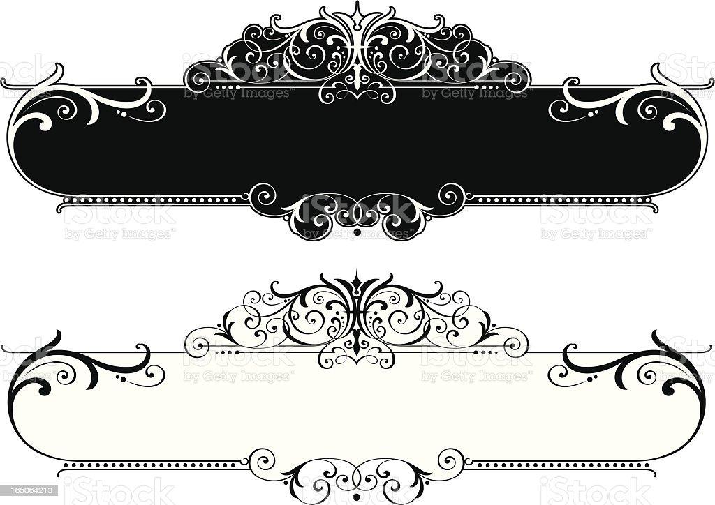 Label Design royalty-free stock vector art