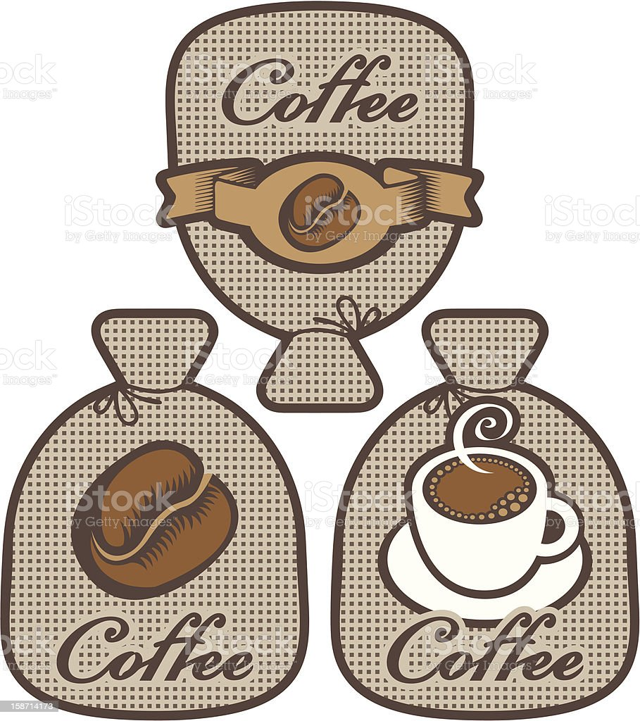 label for coffee royalty-free stock vector art