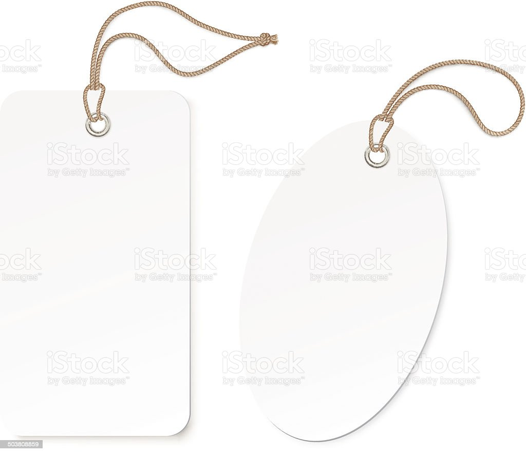 Label (tag) isolated on white background. Vector illustration vector art illustration