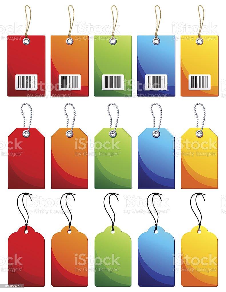Label vector art illustration