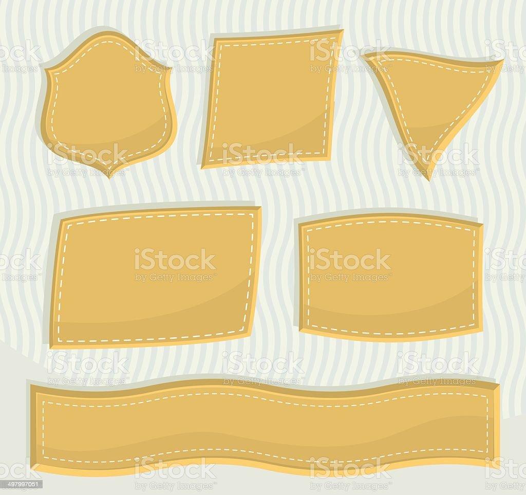 Label royalty-free stock vector art