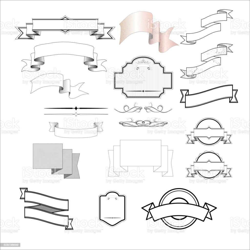 labels and symbols royalty-free stock vector art