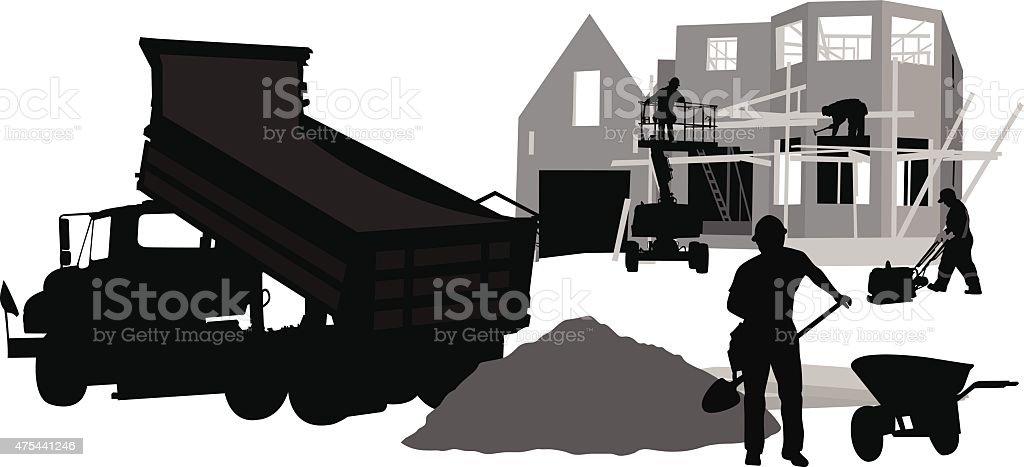 Labor Work vector art illustration