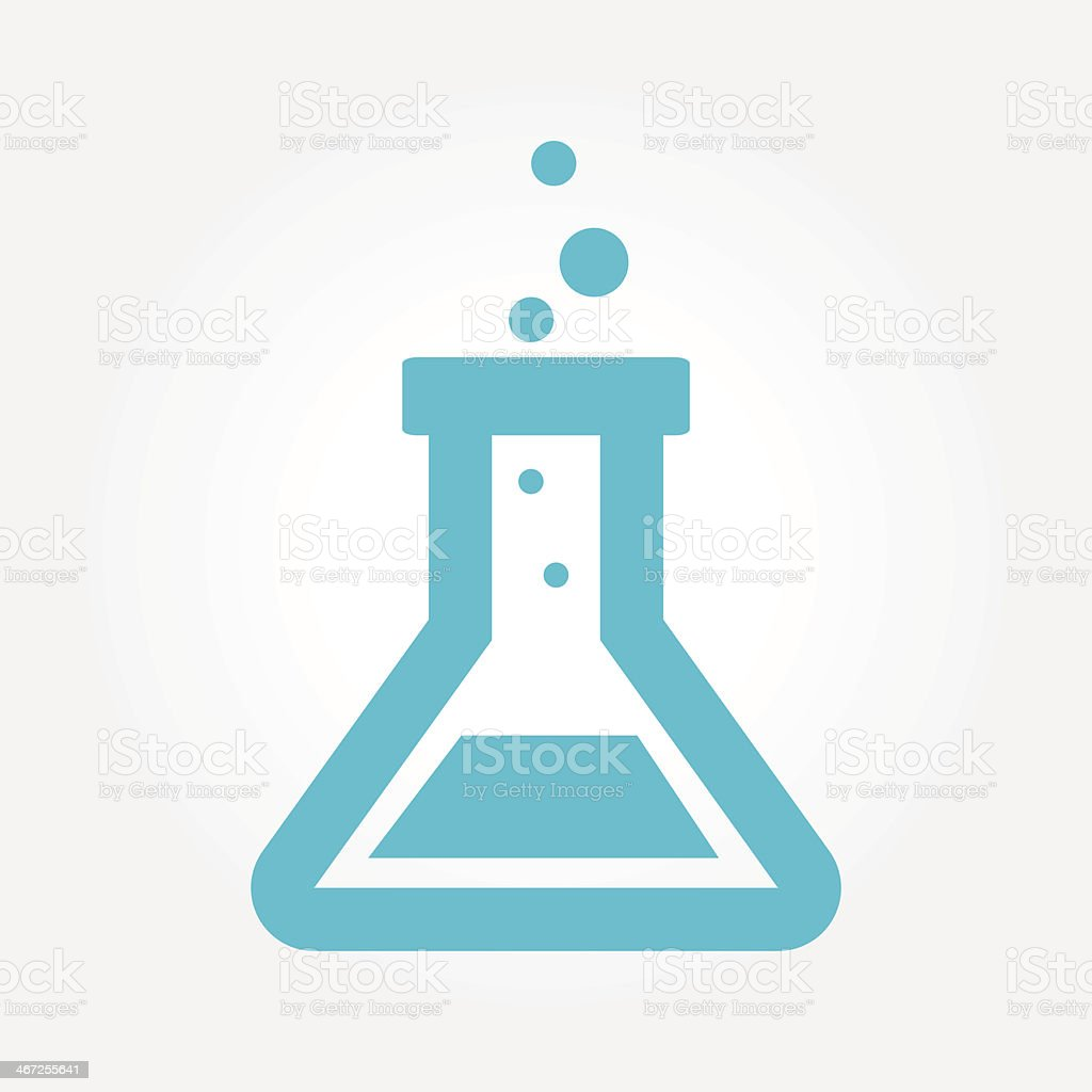 laboratory glass vector art illustration