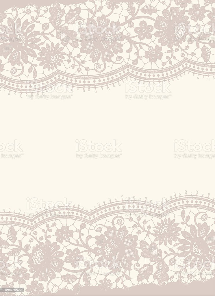 Lace card royalty-free stock vector art