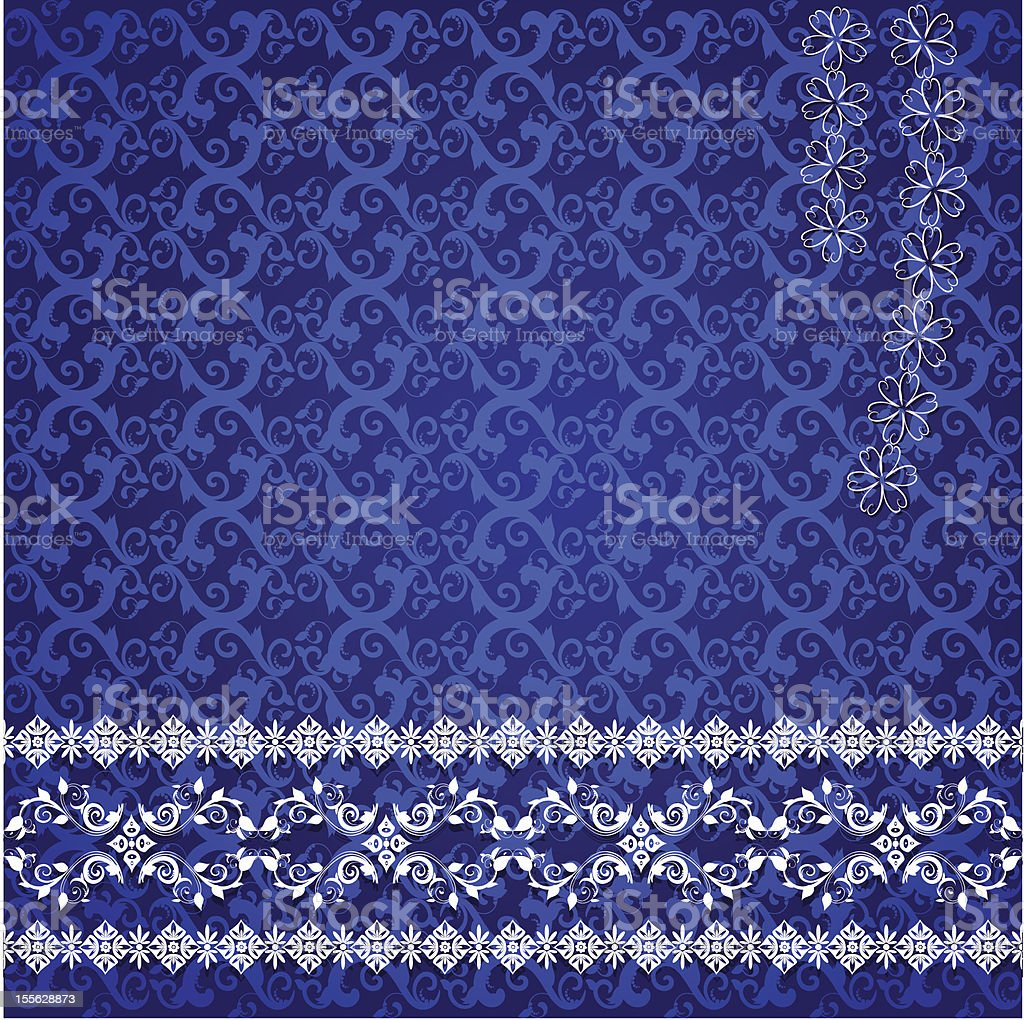 lace design background royalty-free stock vector art