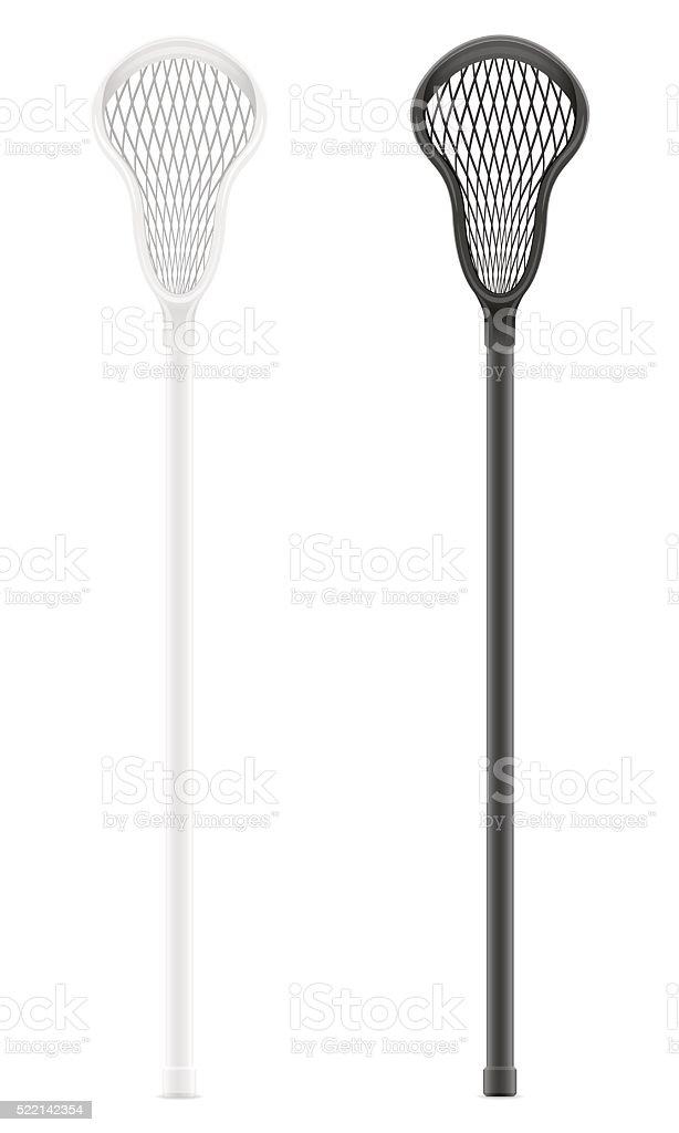 lacrosse sticks vector illustration vector art illustration