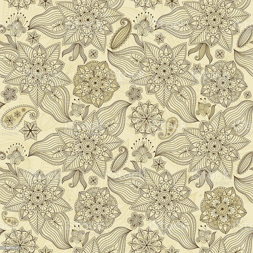 Lacy seamless pattern royalty-free stock vector art