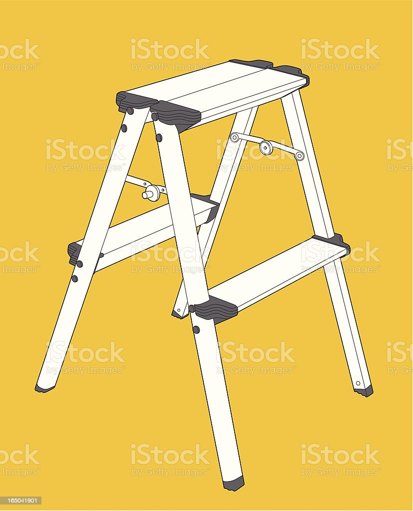 Ladder royalty-free stock vector art